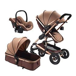 3 in 1 baby stroller for Newborns high Landscape Travel Syst