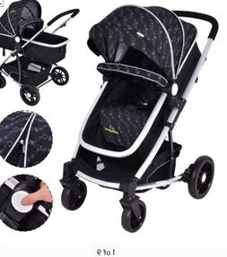 Costway 2 In1 Foldable Baby Stroller Kids Travel Newborn Inf
