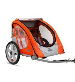 2 Seater Bike Trailer Double Child Baby Bicycle Jogger Sport