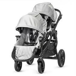 Baby Jogger 2015 City Select Double Stroller - Silver on Bla