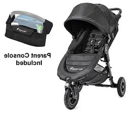 Baby Jogger 2016 City Mini GT Stroller in Black with Parent