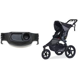BOB Revolution Pro Jogging Stroller & BOB Single Snack Tray,