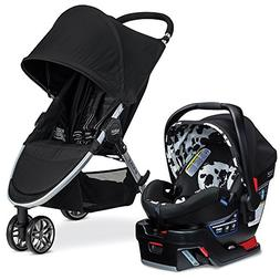 Britax 2017 B-Agile & B-Safe 35 Elite Travel System, Cowmoof