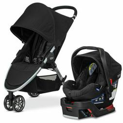 Britax 2017 B-Agile 3 B-Safe 35 Travel System Stroller Car S