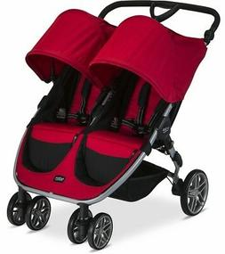 Britax 2017 B-Agile Double Stroller - Red - Brand New! Free