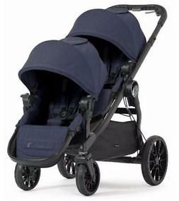 Baby Jogger City Select LUX Double Stroller in Indigo New!