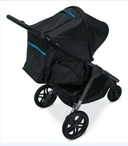 Britax B-Free 3 Single Stroller in Cool Flow Teal Fabric New