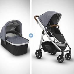 UPPAbaby Full-Size Compact Cruz Infant Baby Stroller & Bassi