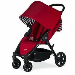 Britax 2018 Pathway Stroller in Cabana Red Color Brand New!