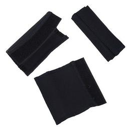 2pcs Black Baby Stroller Carriage Front Handle Fabric Cover