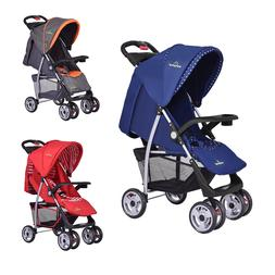 3 Colors Foldable Baby Kids Travel Stroller Newborn Infant B