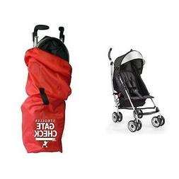 Summer Infant 3Dlite Convenience Stroller, Black & JL Childr