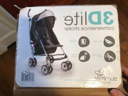 Summer Infant 3Dlite Convenience Stroller, Black  In Photos.