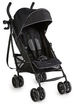 Summer Infant 3Dlite+ Convenience Stroller in Matte Black