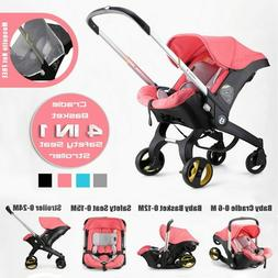 4 IN 1 Car Seat/Stroller Baby Carriage Portable Travel Syste