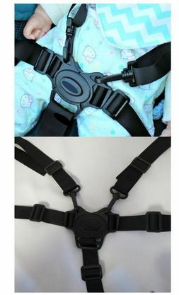 5 Point Harness Buckle w Straps Replacement for Summer Infan
