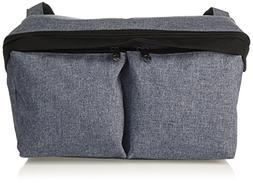 Bugaboo Stroller Organizer, Blue Mélange - Compatible with