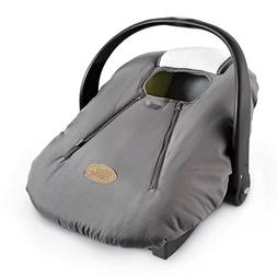 Cozy Cover - Lightweight Grey Car Seat and Carrier Cover