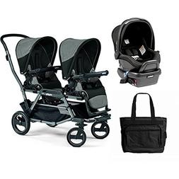 Peg Perego - Duette Piroet Atmosphere Travel System with Dia