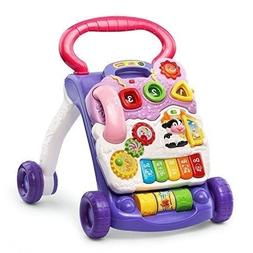 VTech Sit-to-Stand Learning Walker, Lavender -