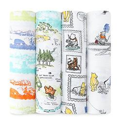 aden Swaddling Blankets + anais Disney Baby swaddles, Winnie