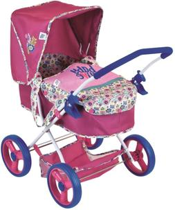 "Baby Alive Classic Style ""Diana"" Pram Stroller for 14-16"" Do"