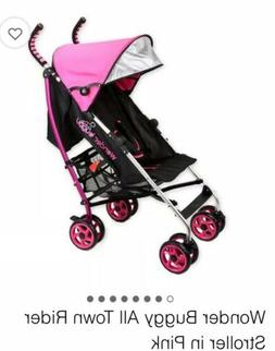 Wonder Buggy All Town Rider Lightweight Stroller pink