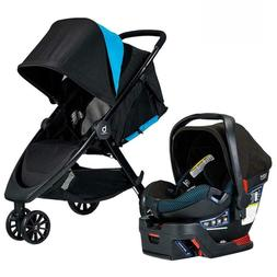 Britax B-Lively Travel System with B-Safe Ultra Infant Car S