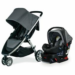 Britax B-Lively and B-Safe Stroller and Car Seat Travel Syst