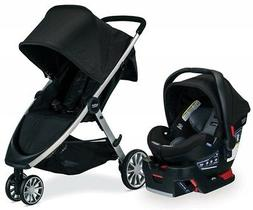 Britax B-Lively & B-Safe Ultra Travel System, Noir