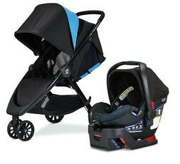 Britax B-Lively Stroller & B-Safe Ultra Car Seat Travel Syst