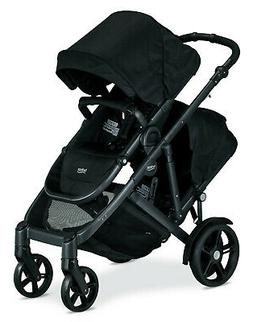 Britax B-Ready G3 Version Double Stroller in Black with Seco