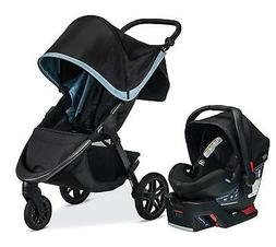 Britax B-Free & B-Safe Ultra Travel System, Frost