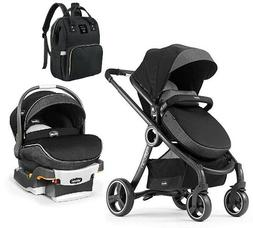 Chicco Baby 6-in-1 Modular Stroller with Car Seat & Diaper B