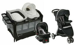 Graco Baby Boy Stroller with Car Seat Travel System Combo Pl