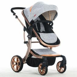 Baby Child Foldable Carriage Safe Pushchair Infant Kid Singl