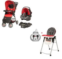 Disney Baby Combo Set Stroller with Car Seat High Chair Cup