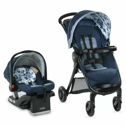 Graco Baby FastAction SE Travel System Stroller w SnugRide 3