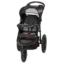 Baby Jogging Stroller Swivel Locking Wheel Canopy Kids Outdo