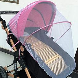 Baby Mosquito Net for Strollers Cradles Portable Baby Stroll