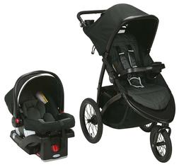 Graco Baby RoadMaster Jogger Travel System Stroller w/ Infan
