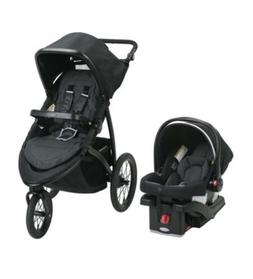 Graco RoadMaster Jogger Travel System Stroller w/ Infant Car