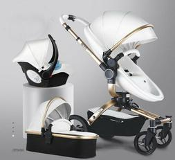 Baby stroller 3 in 1 newborn 360 Travel Pram Foldable infant