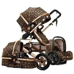 Baby Stroller 3 in 1 with Car Seat