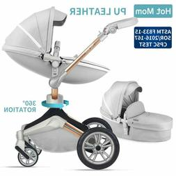 Baby Stroller 360 Rotation Function,Hot Mom Baby Carriage Pu