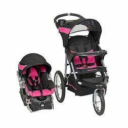 Baby Stroller And Car Seat Combo Travel System Set For Girls