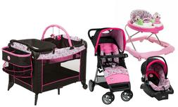 baby stroller and car seat travel