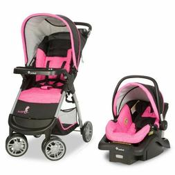 Baby Stroller Car Seat Amble Quad Travel System Safety 1st D