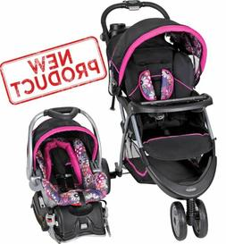 baby stroller car seat combo walking girl