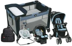 Graco Baby Stroller Car Seat Travel System with Playard Nurs